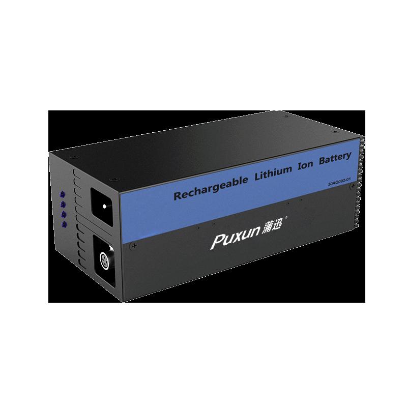 44.4V70Ah锂电池无人机器人AGV大电流快充 不锈钢IP68防爆 通讯CAN/RS485锂电池