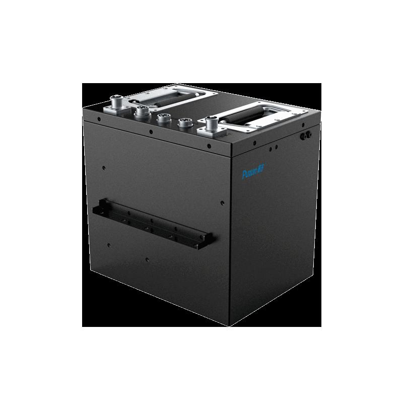 60V120Ah磷酸铁锂 防爆 通讯RS485协议 锂电池