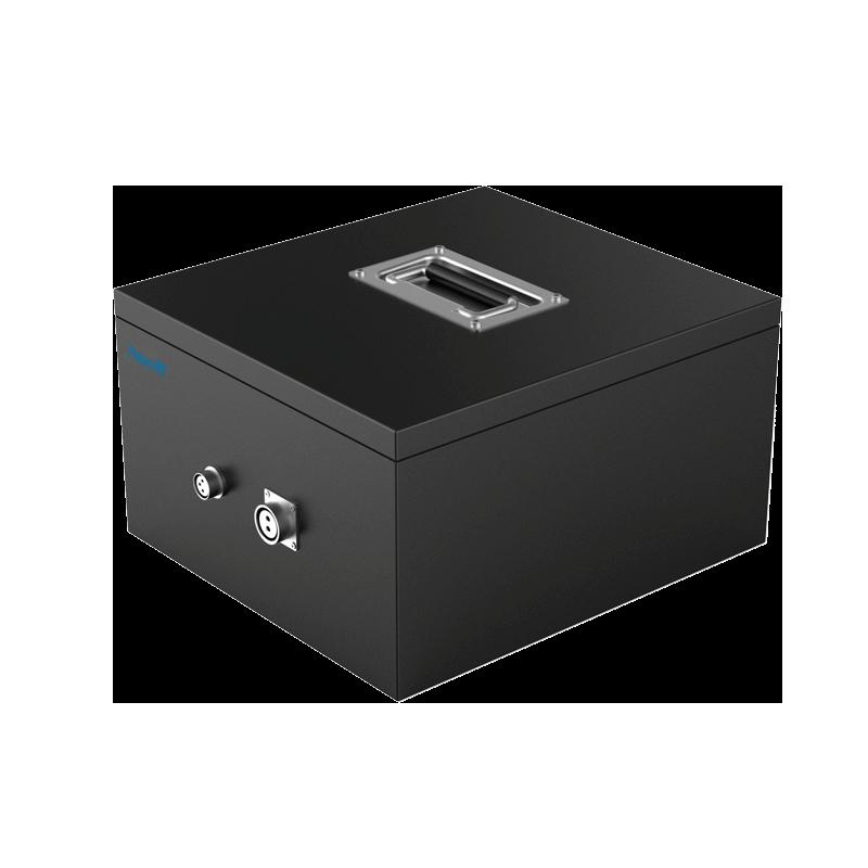 44.4V70Ah磷酸铁锂 AGV 特种车辆 警用安防 大电流快充 防爆 锂电池